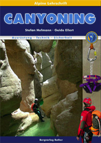 Lehrbuch Canyoning - Titelseite