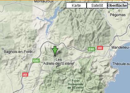Google Maps Reliefansicht